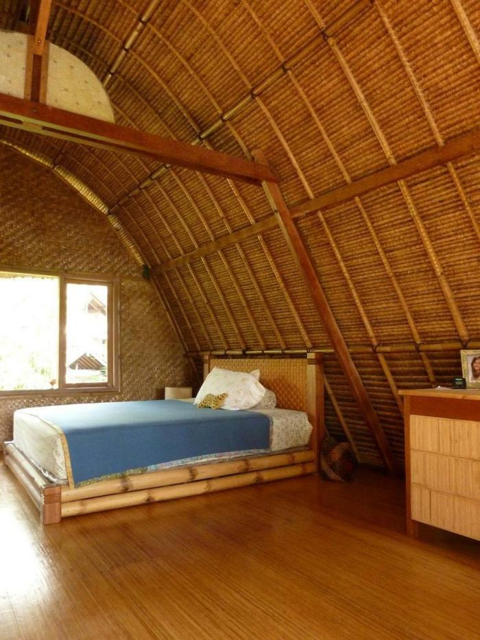 dekoideen bambusdeko wohnideen holzdeko raumtrenner teppich bambuswände