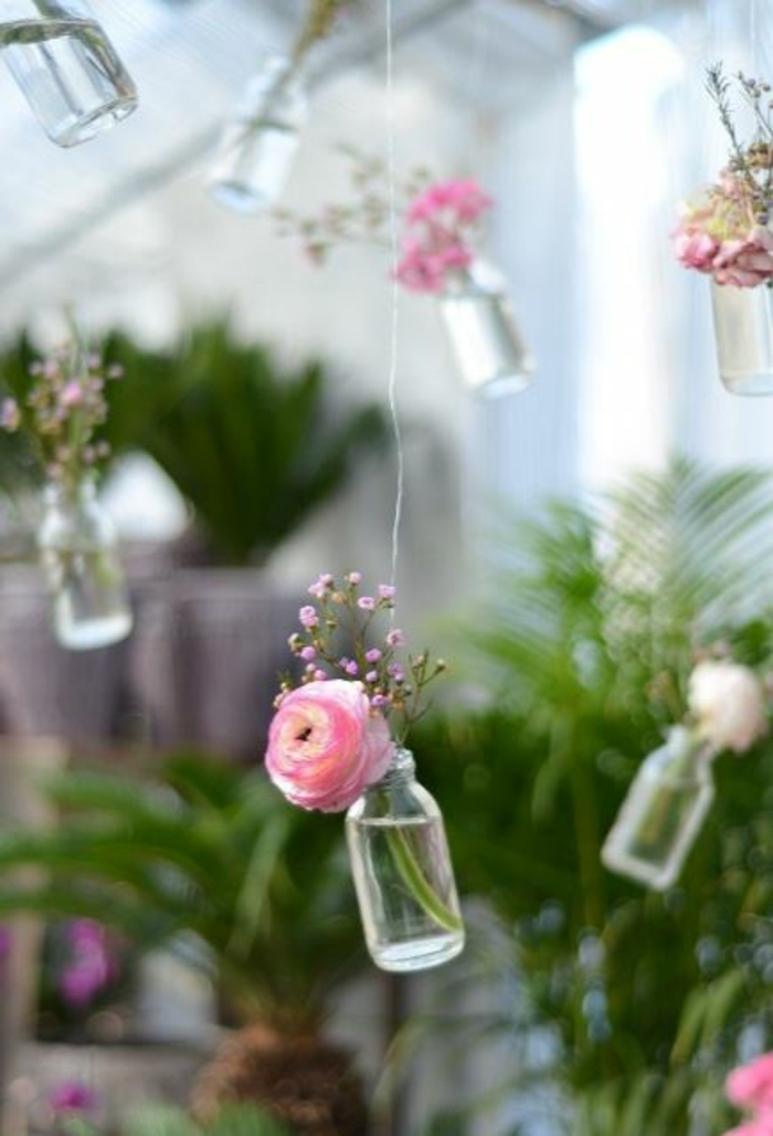 decorative ideas floral decoration ideas make room glass bottle design ideas