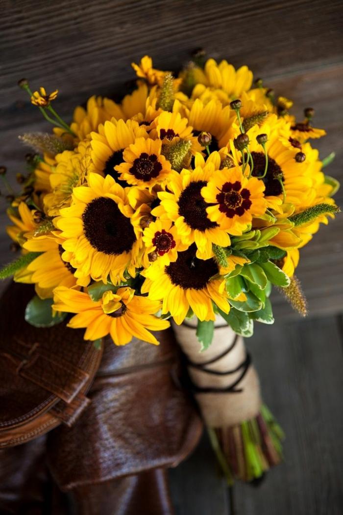 dekoideen blumendeko deko ideen selber machen raumgestaltung ideen sonnenblume