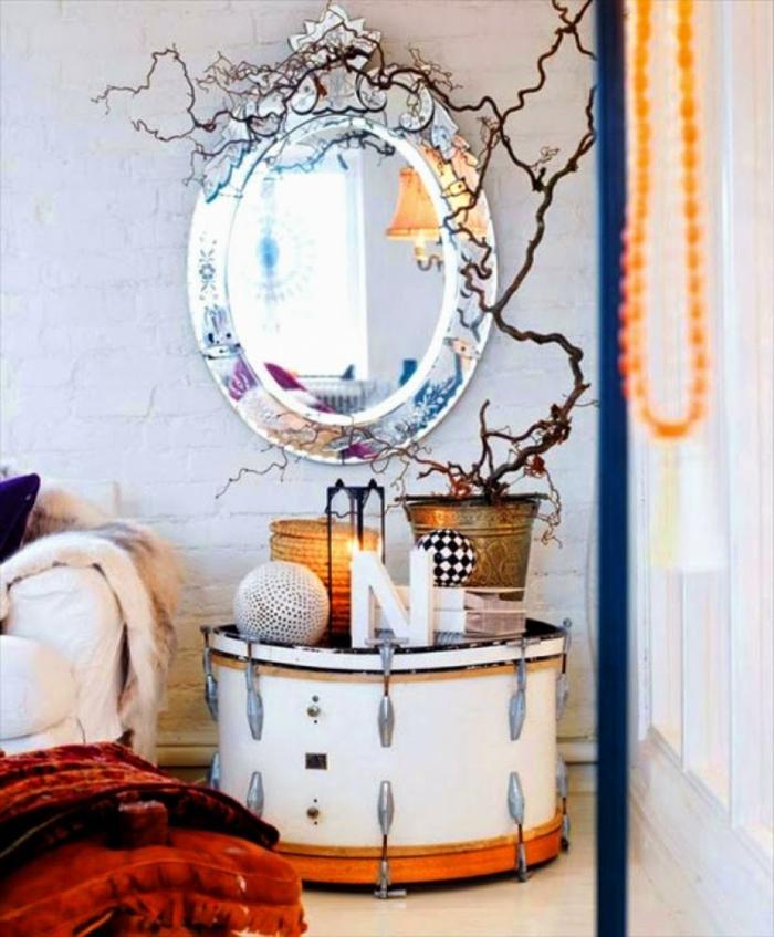 Upcycling Ideen dekoideen deko ideen wohnzimmer ideen DIY ideen kreativ drummachine