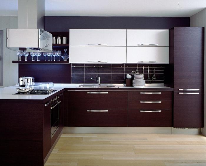 Braune Küche design küchen 25 aktuelle einrichtungsideen für ihren küchenbereich