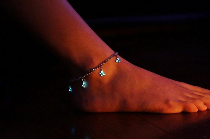 designer schmuck amulette keltischer schmuck vintage schmuck leuchtend fußkette