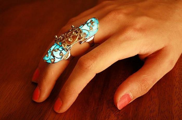 schmuck amulette keltischer schmuck vintage schmuck leuchtend ring groß