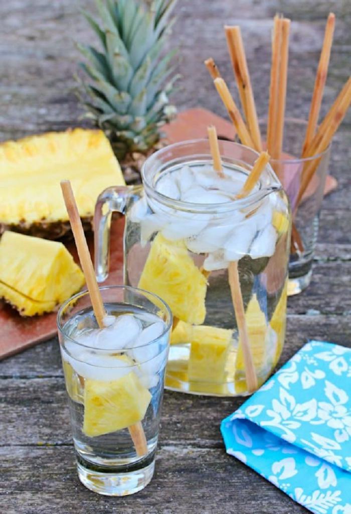 detox kur ananas Zuckerrohrmelasse