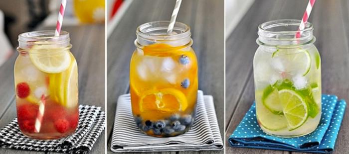 detox kur wasser früchte gesund leben