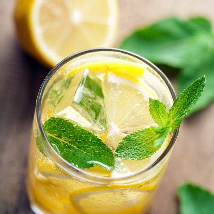 detox kur zitrone minze gesund leben