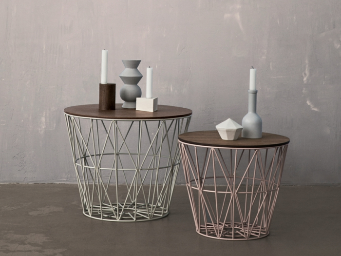 einrichtungsbeispiele und diy ideen mit und aus draht. Black Bedroom Furniture Sets. Home Design Ideas