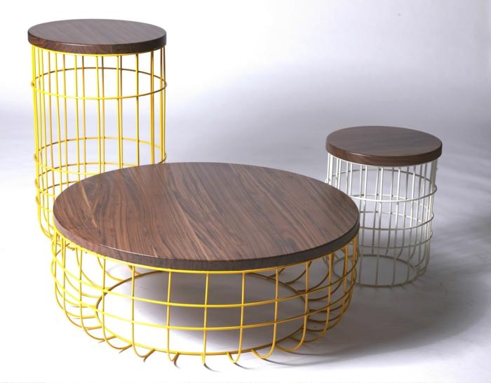 Einrichtungsbeispiele und diy ideen mit und aus draht for Tisch eins design studio