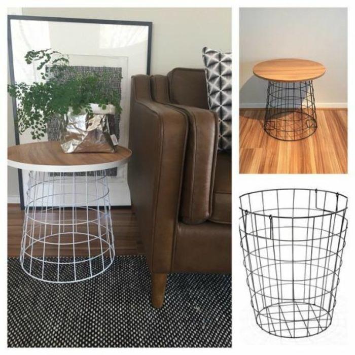 drahtkorb deko ideen inspiration f r die gestaltung der besten r ume. Black Bedroom Furniture Sets. Home Design Ideas