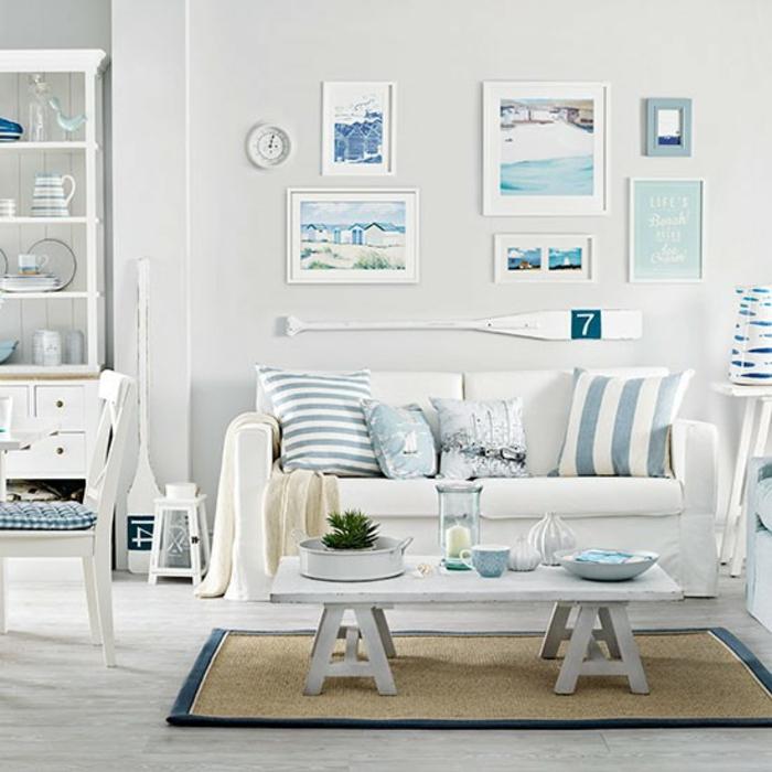 wohnzimmer deko blau:wohnzimmer deko blau : 39 gelungene Einrichtungsbeispiele für ein