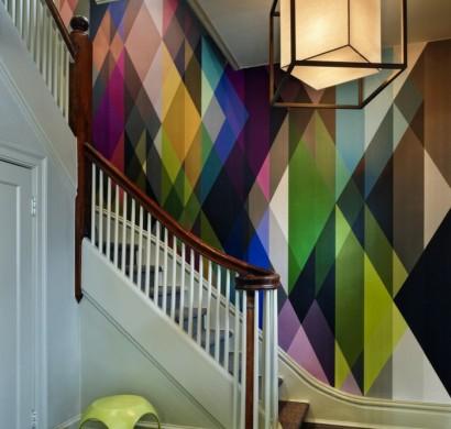 Flur Einrichtungsbeispiele einrichtungsbeispiele 2016 ein zusammenspiel geometrie und farbe