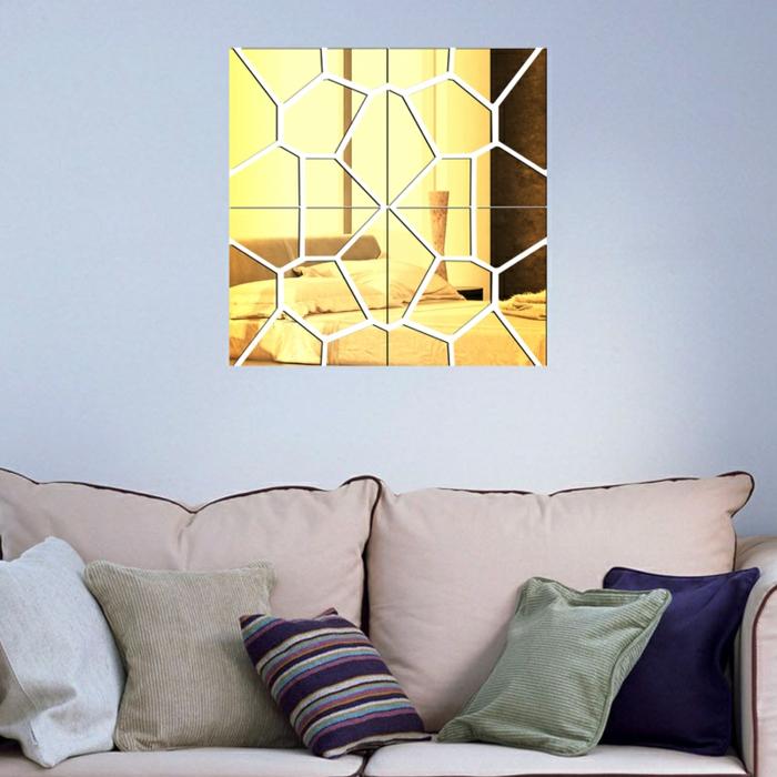 einrichtungsbeispiele wohnideen dekoideen geometrie farbe smart klare-textur wand aufleber acryl