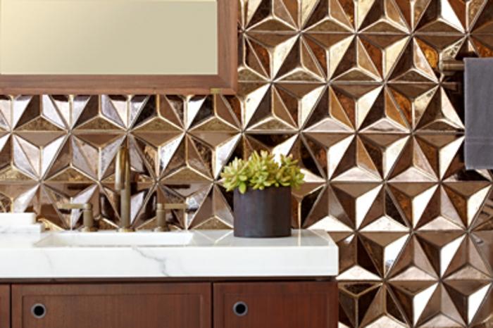 einrichtungsbeispiele wohnideen dekoideen geometrie farbe smart klare textur wand aufleber wandgestaltung2