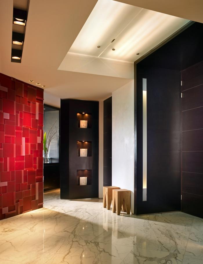 flur gestalten 66 einrichtungsideen f r den flur. Black Bedroom Furniture Sets. Home Design Ideas