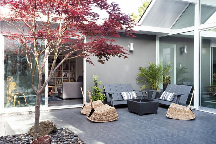 gartenm bel design 33 ideen f r den perfekten. Black Bedroom Furniture Sets. Home Design Ideas