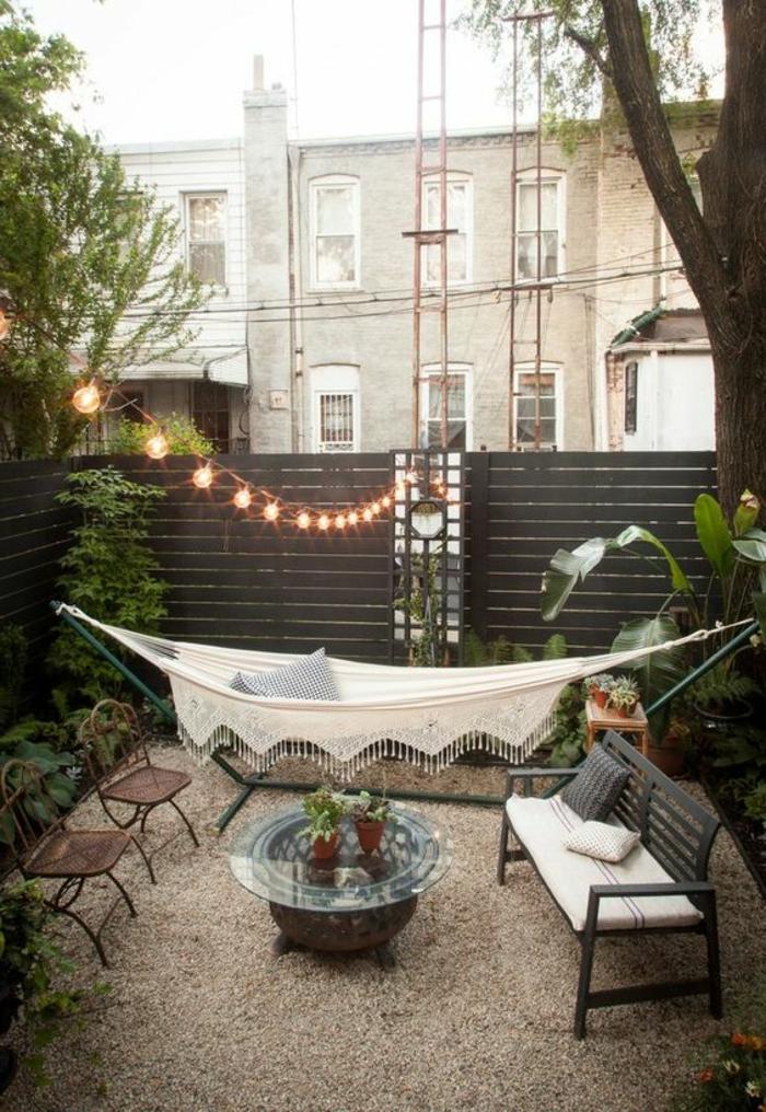 Eine Gemütliche Hängematte Für Den Garten Sorgt Für Volles ... Gemutliche Hangematte Fur Den Garten Zum Entspannen