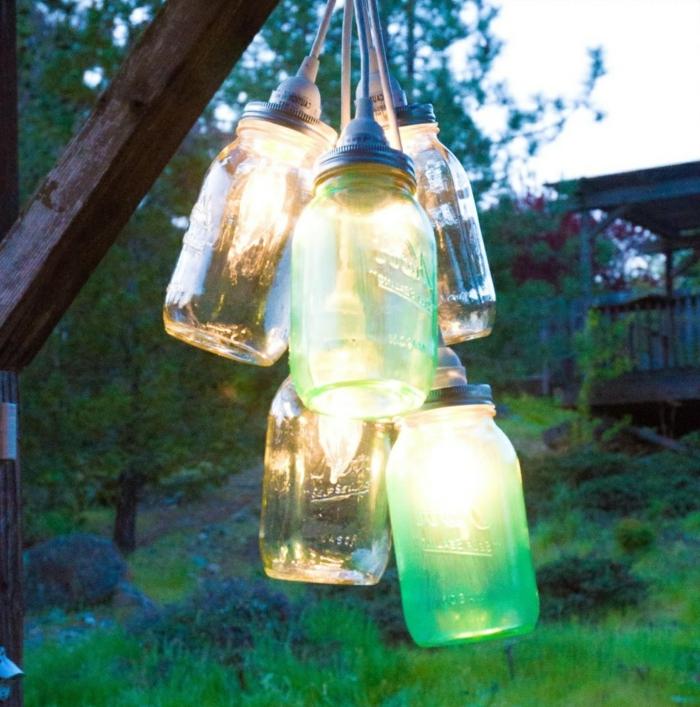 90 deko ideen zum selbermachen f r sommerliche stimmung im for Gartendeko licht
