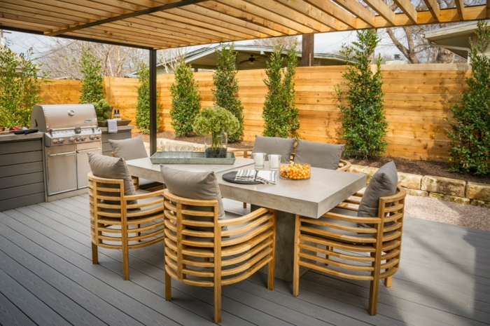 moderne gartengestaltung ideen die sie zu al fresco dining inspirieren. Black Bedroom Furniture Sets. Home Design Ideas