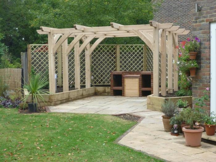 Pergola Im Garten Ideen Gartengestaltung ? Bitmoon.info Gartengestaltung Ideen Pergola Grillparty