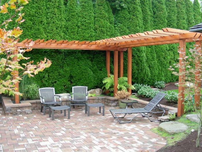 Pergola Im Garten Ruckzugsort Bluhend – sweetmenu.info