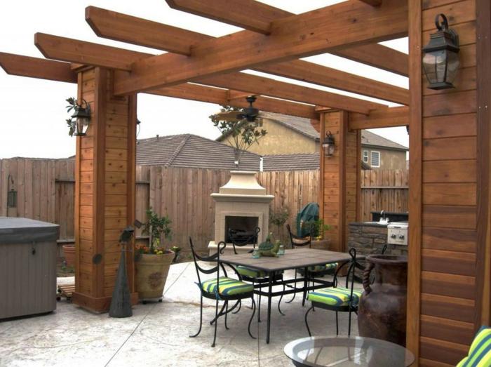 Fantastisch Dachte Außenküche Fotos - Küchenschrank Ideen ...