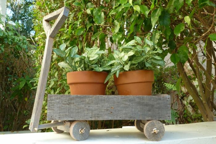 gartenideen pflanzenbehälter diy projekte garten pflanzen