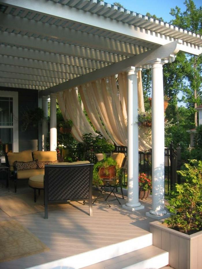 Garten Pergola Gestalten 50 Ideen F 252 R Ihre Sommerliche