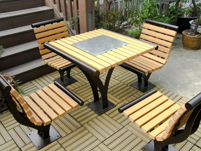gartenm bel design 33 ideen f r den perfekten au enbereich im sommer. Black Bedroom Furniture Sets. Home Design Ideas