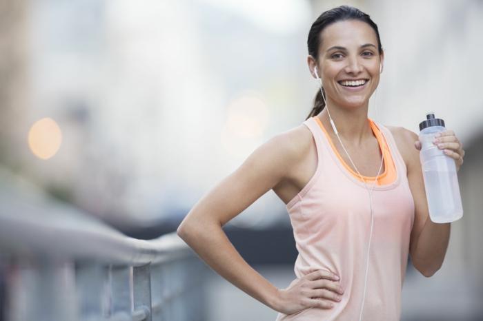 gesund abnehmen diabetes wasser trinken sport treiben