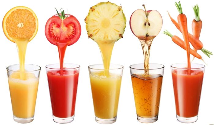 gesund leben dehydrierung wasser trinken frisch gepresste säfte