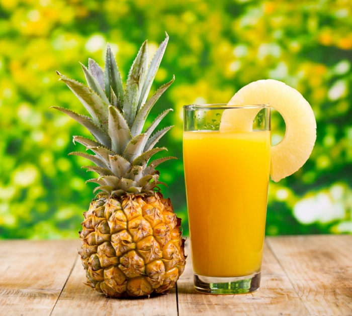 gesund leben gemüse grillen knoblauch ananas