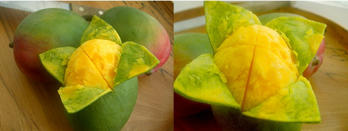 gesund leben gemüse grillen knoblauch orange mango