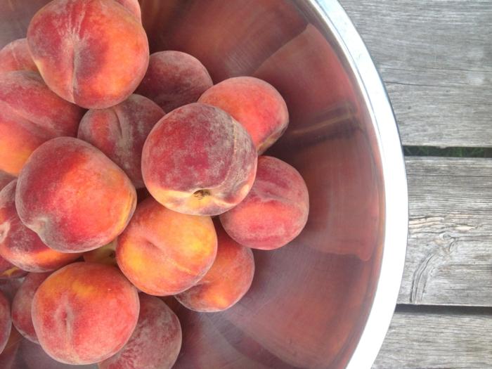 gesund leben gemüse grillen knoblauch orange pfirsich