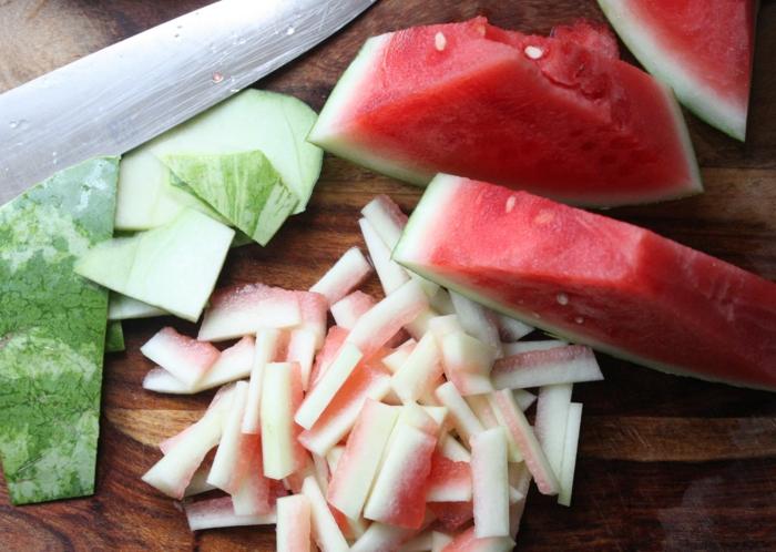 gesund leben gemüse grillen knoblauch orange wassermelone
