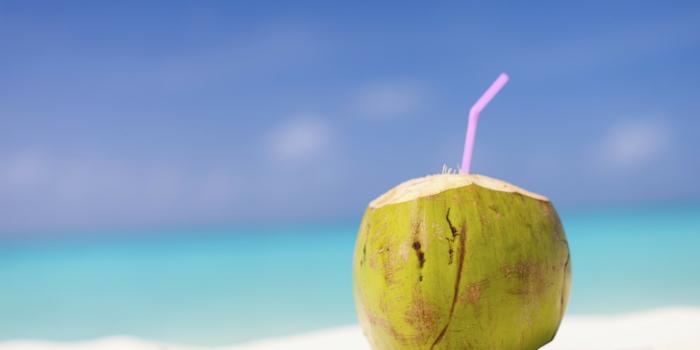 gesund leben dehydrierung wasser kokoswasser