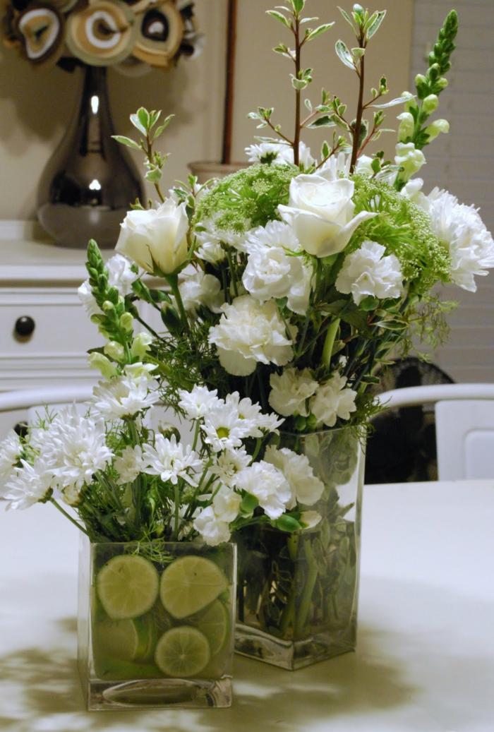 gesund leben weiße blüten dekoideen blumen