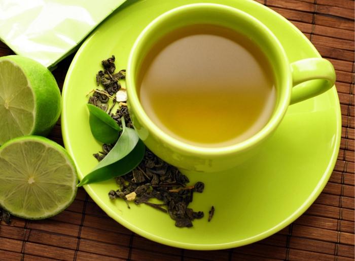 gesunde haut lebensmittel grüner tee gesund antioxidantien