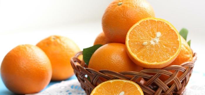gesunde haut lebensmittel orangenschale kuchen salate zubereiten