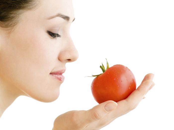gesunde haut lebensmittel tomaten essen gesund