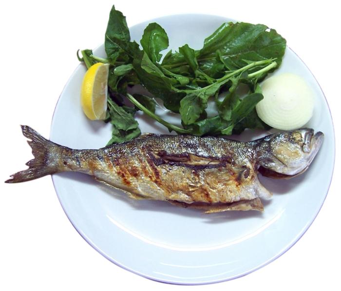 gesundes essen schöne haut schöne haare fisch essen