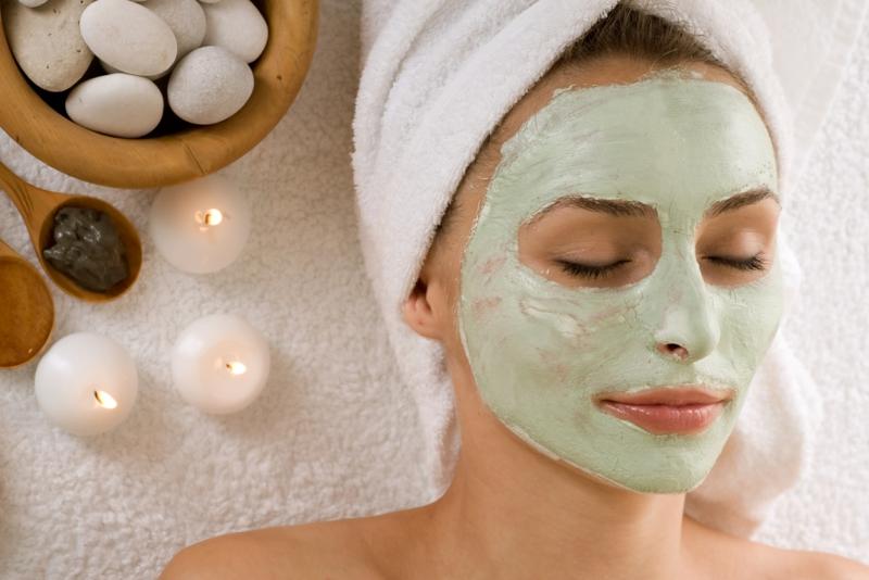 grüne Ton erde Maske Tipps Schönheit aus der Natur