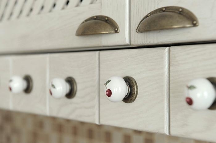 griffe für küchenschränke moderne knöpfe kirsche abbildung