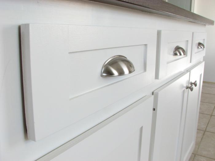 griffe für küchenschränke modernes design küche einrichten ideen