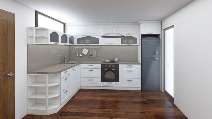 griffe für küchenschränke weiße küchenschränke hellgraue küchenrückwand