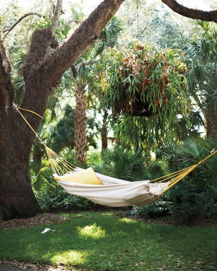 Hängesessel Garten und Garten Hängematte - 60 Ideen, wie Sie die ...