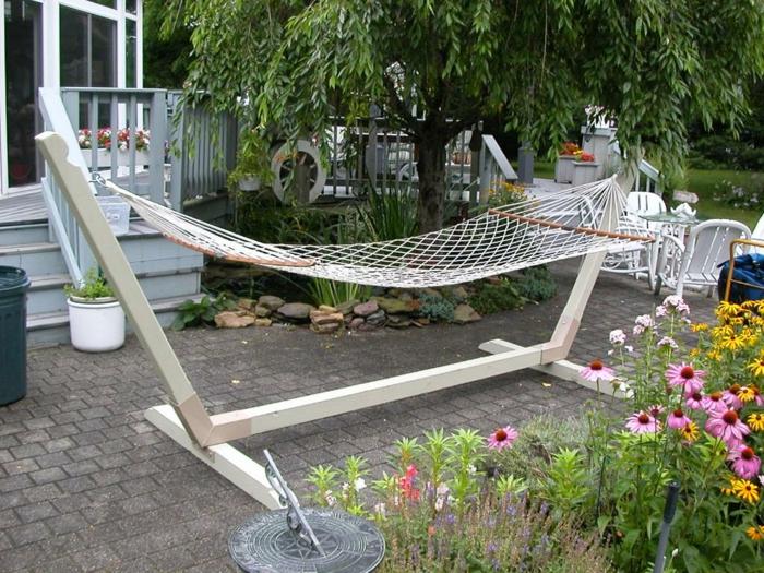 H ngesessel garten und garten h ngematte 60 ideen wie for Gartengestaltung jaspers