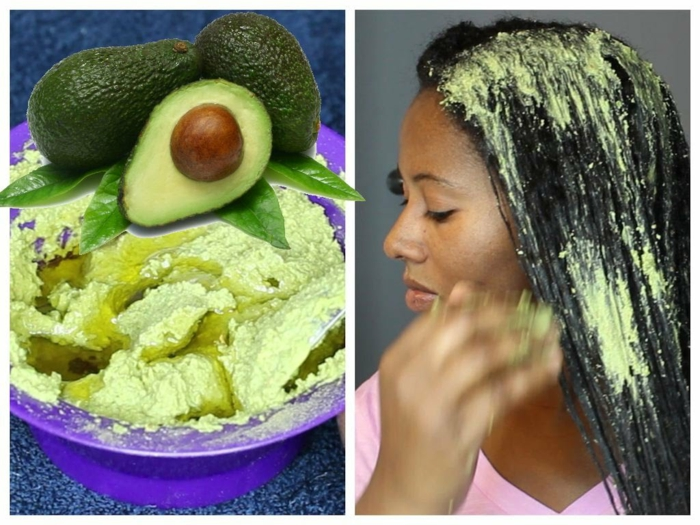 haarkur selber machen haarpflegetipps avokado waschen kämmen avokado2