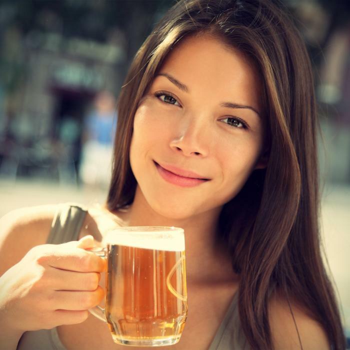 haarkur selber machen haarpflegetipps bier