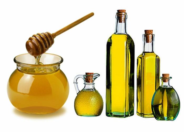 haarkur selber machen haarpflegetipps honig zitrone olivenoel