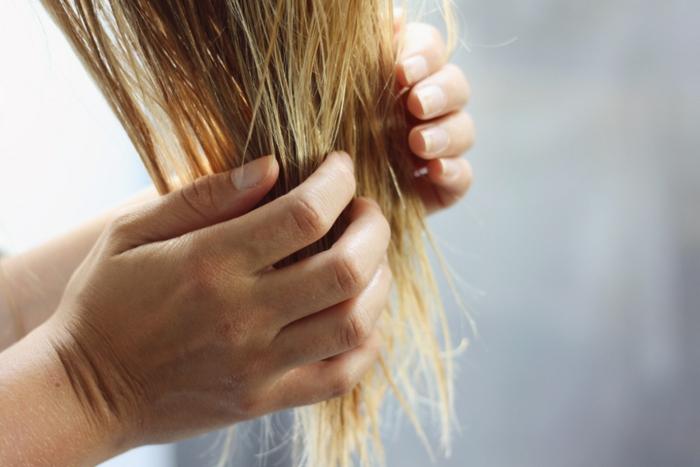 haarpflege tipps shampoo maske glatt lang lang spitzen